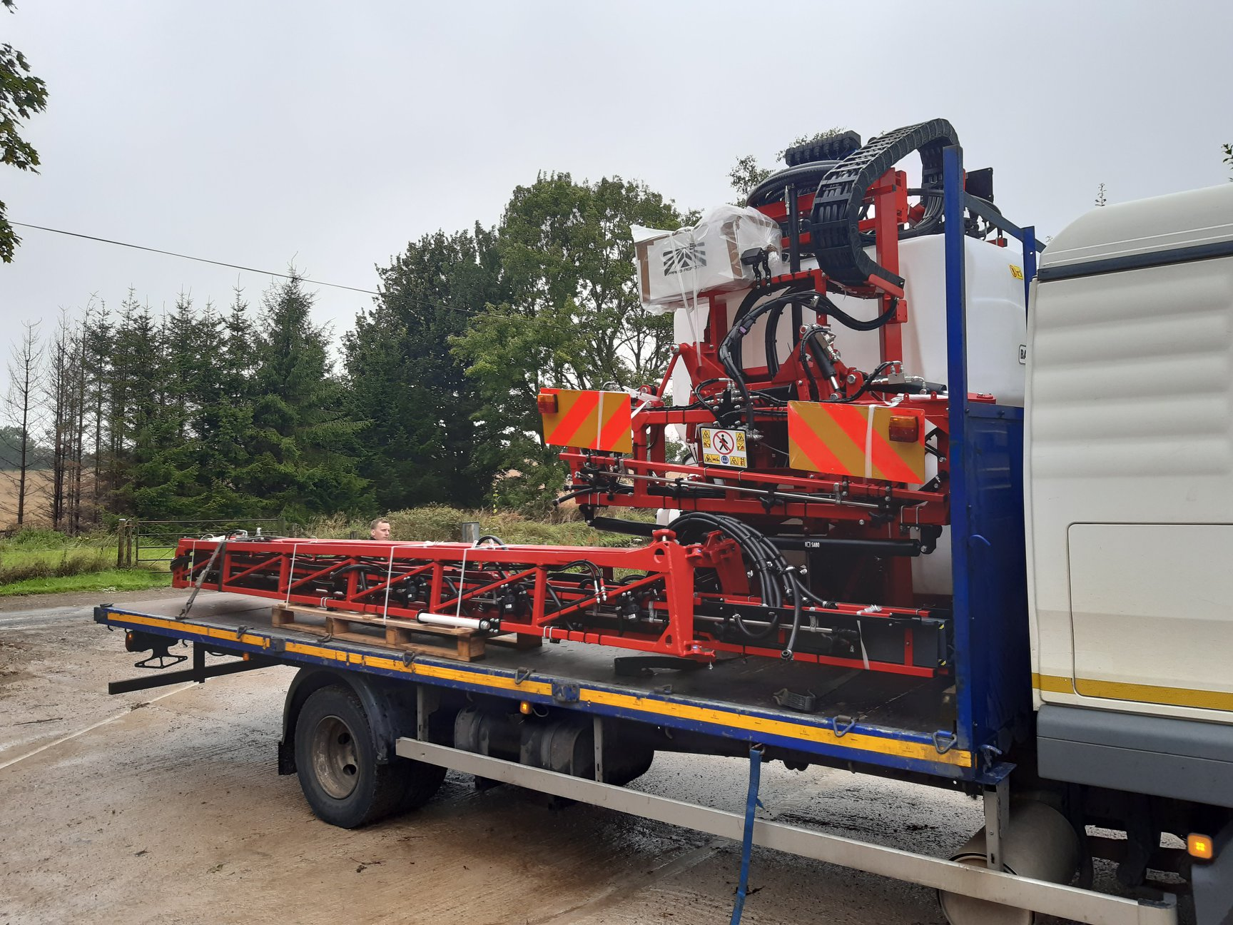 Delivery of the Bargam 1600 Super BLD