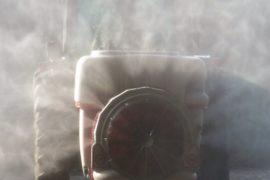 Setting up a Mist Blower