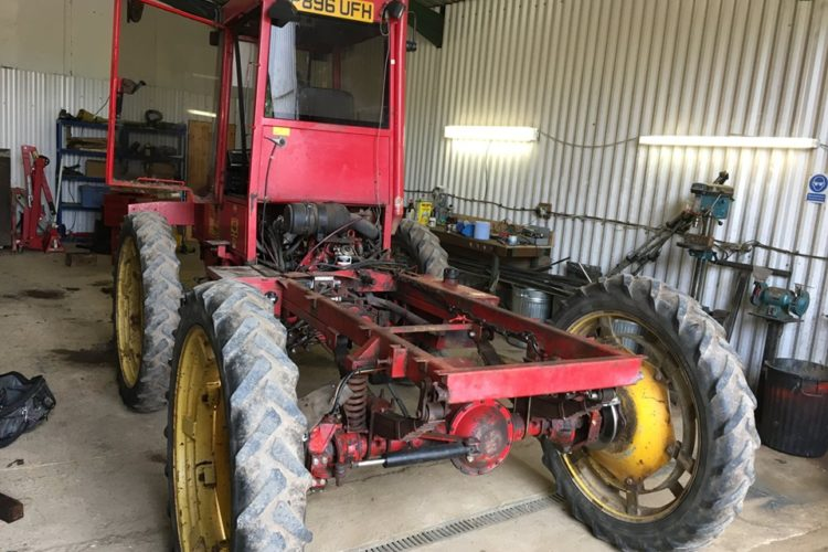 We have just repaired the rear axle/brake assemblys on this Frazier 475D Agribuggy.